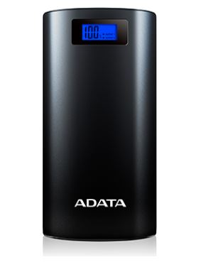 ADATA P20000D 2.1A 20000mAh Power Bank with LCD