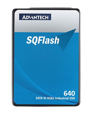 "Advantech 640s 2.5"" SATA3 Industrial TLC ECC 512GB SSD"