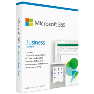 Microsoft 365 Business Standard 2019 1 User (5 PC